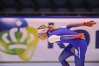 SCHAATSEN: HEERENVEEN: 30-10-2014, IJsstadion Thialf, Topsporttraining, Annouk van der Weijden, ©foto Martin de Jong