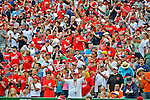 2 September 2012: Washington Nationals Fans enjoys a game against the St. Louis Cardinals at Nationals Park in Washington, DC. The Nationals edged out the visiting Cardinals 4-3, capping their 4-game series with three wins. Mandatory Credit: Ed Wolfstein Photo