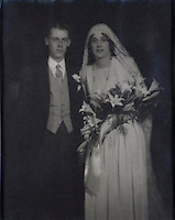 Desmond and Veronica Fitzgerald, the present Knight's parents on their wedding day in 1929