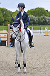 Class 4. Newcomers. British Showjumping (BS) Juniors. Brook Farm training centre. Stapleford Abbotts. Essex. 13/05/2017. MANDATORY Credit Garry Bowden/Sportinpictures - NO UNAUTHORISED USE - 07837 394578