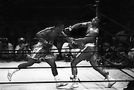 March 8, 1971 Madison Square Garden, NY. First fight between Muhammad Ali and Joe Frazier. Frazier won this first match.
