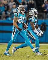Charlotte, NC - November 17, 2016: The Carolina Panthers play the New Orleans Saints at Bank of America Stadium.
