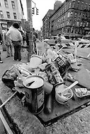 New York City, October 1975. 79th Street and Lexington Avenue. Economic depression in NYC.