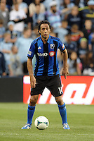 KANSAS CITY, KS - June 1, 2013:<br /> Alessandro Nesta (14) defender Montreal Impact in action.<br /> Montreal Impact defeated Sporting Kansas City 2-1 at Sporting Park.