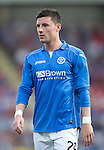 St Johnstone v FC Luzern...24.07.14  Europa League 2nd Round Qualifier<br /> Michael O'Halloran<br /> Picture by Graeme Hart.<br /> Copyright Perthshire Picture Agency<br /> Tel: 01738 623350  Mobile: 07990 594431