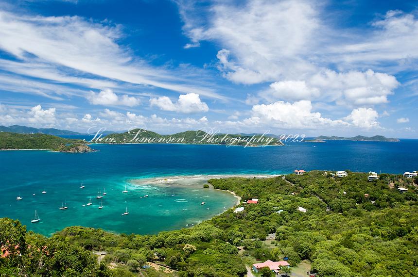 View of Johnson Bay<br /> St. John<br /> U.S. Virgin Islands