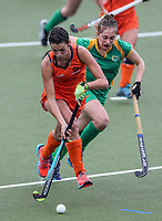 Action during the National Under 21 Championships between Midlands and Central, Lloyd Elsmore Park, Auckland, New Zealand. Thursday 11 May 2017. Photo:Simon Watts / www.bwmedia.co.nz