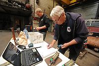 SKÛTSJESILEN: IJLST: 10-06-2016, IFKS meting skûtsjes, voorzitter commissie generaal Harm Kuipers, ©foto Martin de Jong