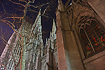 Saint Patricks Cathedral on Christmas Eve.