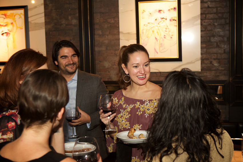 NEW YORK, NY - April 6, 2017: Josh &amp; Jessica's Engagement Party at Andro Lei.<br /> <br /> Credit: Clay Williams.<br /> <br /> &copy; Clay Williams / http://claywilliamsphoto.com