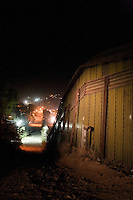 US_Mexico border fence.Nogales, AZ..12/10/05..photo: Hector Emanuel.