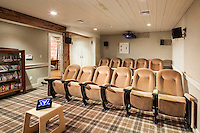 Home Theater Projector And On Wall Sound