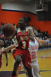 Lafayette High vs. North Pontotoc in Division 2-4A basketball playoffs in Ecru, Miss. on Friday, February 15, 2013. North Pontotoc won 56-49.
