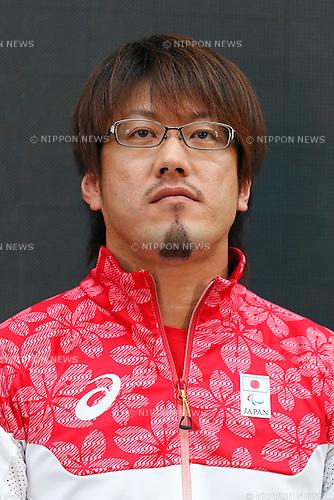 Daisuke Ikezaki (JPN), MAY 26, 2016 - : A press conference about presentation of Japan national team official sportswear for Rio de Janeiro Olympics 2016 in Tokyo, Japan. (Photo by Sho Tamura/AFLO SPORT)