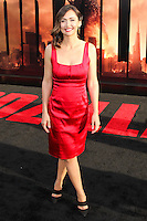 """HOLLYWOOD, LOS ANGELES, CA, USA - MAY 08: Jessica Chobot at the Los Angeles Premiere Of Warner Bros. Pictures And Legendary Pictures' """"Godzilla"""" held at Dolby Theatre on May 8, 2014 in Hollywood, Los Angeles, California, United States. (Photo by Xavier Collin/Celebrity Monitor)"""