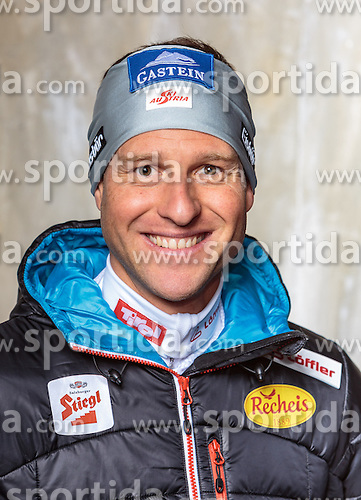 08.10.2016, Olympia Eisstadion, Innsbruck, AUT, OeSV Einkleidung Winterkollektion, Portraits 2016, im Bild Bernhard Gruber, Nordische Kombination, Herren // during the Outfitting of the Ski Austria Winter Collection and official Portrait Photoshooting at the Olympia Eisstadion in Innsbruck, Austria on 2016/10/08. EXPA Pictures © 2016, PhotoCredit: EXPA/ JFK