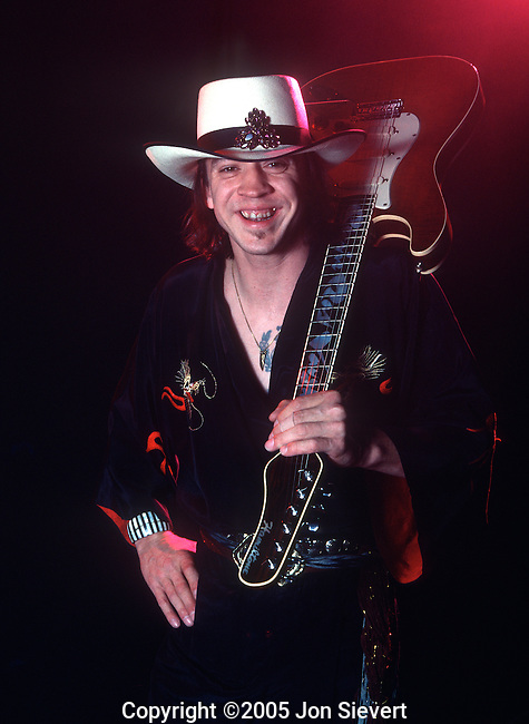 Stevie Ray Vaughan, June 1984