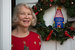Alice Faye Symons' holiday tree collection