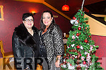 Kristine Sasko and Samantha Houlihan enjoying a christmas night out at Ristorante Uno on Saturday