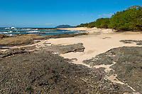 Picturesque beach in Costa Rica nearby Tamarindo Beach on the Pacific Ocean side.