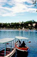 Philippines: Baguio--Burnham Park Lagoon. Photo '82.