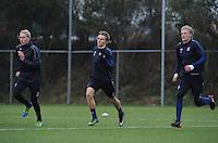 VOETBAL: HEERENVEEN: 10-01-2017, Abe Lenstra Stadion, Nieuwe aanwinst SC Heerenveen Martin Ødegaard, 1e training, ©foto Martin de Jong