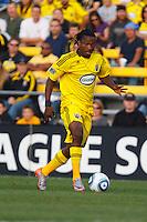 24 OCTOBER 2010:  Columbus Crew forward Andres Mendoza (10) during MLS soccer game against the Philadelphia Union at Crew Stadium in Columbus, Ohio on August 28, 2010.