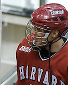 Eric Kroshus (Harvard - 10) - The Northeastern University Huskies defeated the Harvard University Crimson 4-1 (EN) on Monday, February 8, 2010, at the TD Garden in Boston, Massachusetts, in the 2010 Beanpot consolation game.