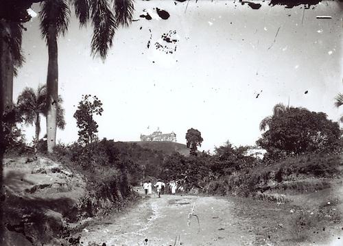 Peregrinación al Santo Cerro. La Vega. Foto Luis Mañón. 1941