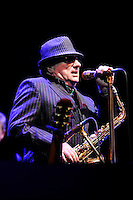 LONDON, ENGLAND - OCTOBER 30: Van Morrison performing at Bluesfest 2016 at the O2 Arena on October 30, 2016 in London, England.<br /> CAP/MAR<br /> &copy;MAR/Capital Pictures /MediaPunch ***NORTH AND SOUTH AMERICAS ONLY***