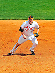 6 March 2009: Baltimore Orioles' first baseman Aubrey Huff in action during a Spring Training game against the Washington Nationals at Fort Lauderdale Stadium in Fort Lauderdale, Florida. The Orioles defeated the Nationals 6-2 in the Grapefruit League matchup. Mandatory Photo Credit: Ed Wolfstein Photo