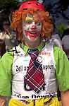 1. Inline Downhill Weltmeisterschaft, Zell am See (Austria) Inline Clown: Mathias Landais (France)