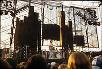 Grateful Dead Live at Dillon Stadium, Hartford, CT 31 July 1974 featuring the Wall of Sound.