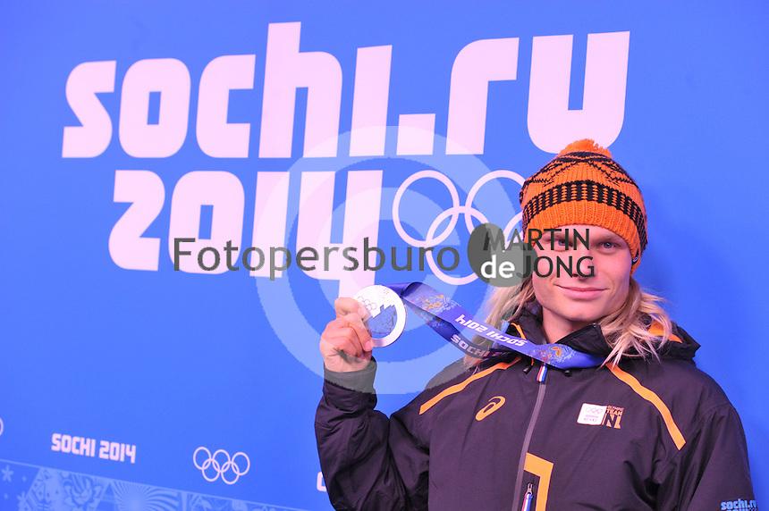 OLYMPICS: SOCHI: Medal Plaza, 16-02-2014, Men's 1500m, Koen Verweij (NED), ©photo Martin de Jong
