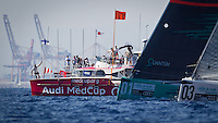 SPAIN, Barcelona. 17th September 2011. AUDI MedCup, Conde de Godo Barcelona Trophy. TP52 start.