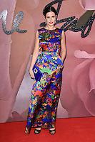 Livia Firth at the Fashion Awards 2016 at the Royal Albert Hall, London. December 5, 2016<br /> Picture: Steve Vas/Featureflash/SilverHub 0208 004 5359/ 07711 972644 Editors@silverhubmedia.com