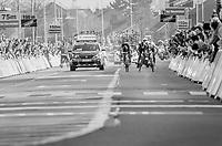 3 Belgians Greg Van Avermaet (BEL/BMC), Philippe Gilbert (BEL/Quick Step floors) &amp; Oliver Naesen (BEL/AG2R-LaMondiale) sprint for victory<br /> <br /> 60th E3 Harelbeke (1.UWT)<br /> 1day race: Harelbeke &rsaquo; Harelbeke - BEL (206km)