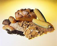 BREAD, CEREALS, PEANUTS &amp; CORN<br />