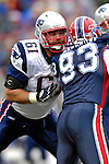 22 October 2006: New England Patriots offensive guard Stephen Neal (61) in action against the Buffalo Bills at Ralph Wilson Stadium in Orchard Park, NY. The Patriots defeated the Bills 28-6. Mandatory Photo Credit: Ed Wolfstein Photo.<br />