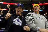 Fans during ice-hockey match between Los Angeles Kings and Colorado Avalanche in NHL league, Februar 26, 2011 at Staples Center, Los Angeles, USA. (Photo By Matic Klansek Velej / Sportida.com)