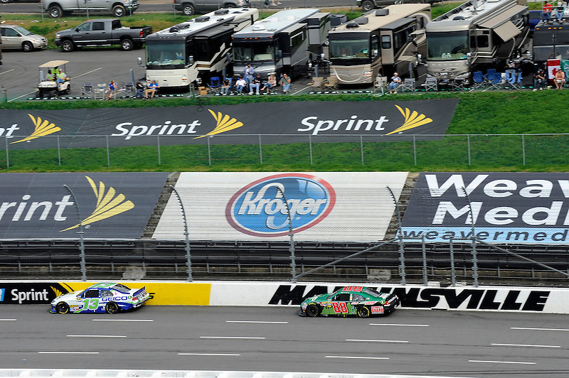 30 March - 1 April, 2012, Martinsville, Virginia USA.Casey Mears, Dale Earnhardt Jr..(c)2012, Scott LePage.LAT Photo USA