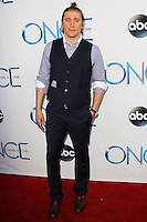 HOLLYWOOD, LOS ANGELES, CA, USA - SEPTEMBER 21: Tyler Jacob Moore arrives at the Los Angeles Screening Of ABC's 'Once Upon A Time' Season 4 held at the El Capitan Theatre on September 21, 2014 in Hollywood, Los Angeles, California, United States. (Photo by Celebrity Monitor)