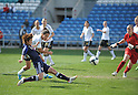 Asuna Tanaka (JPN), MARCH 7, 2012 - Football / Soccer : The Algarve Women's Football Cup 2012, match between Germany 4-3Japan in Estadio Algarve in Faro, Portugal. ..(Photo by Atsushi Tomura/AFLO SPORT) [1035]