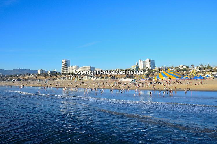 Stock photo of Santa Monica California