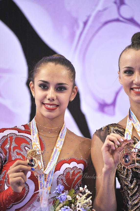 September 25, 2014 - Izmir, Turkey - RITA MAMUN of Ukraine wins gold in EF at 2014 World Championships.