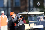 17 April 2016: Virginia Tech's Elizabeth Bose. The Second Round of the Atlantic Coast Conference's Women's Golf Championship was held at Sedgefield Country Club in Greensboro, North Carolina.