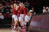 STANFORD, CA - November 20, 2016: Stanford wins 88-54 over Cal State Northridge (CSUN) at Maples Pavilion.