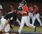 Mississippi's Tanner Mathis (12) vs. St. John's during an NCAA Regional at Davenport Field in Charlottesville, Va. on Friday, June 4, 2010.