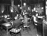 Newsroom of the Waterbury Republican, 1906