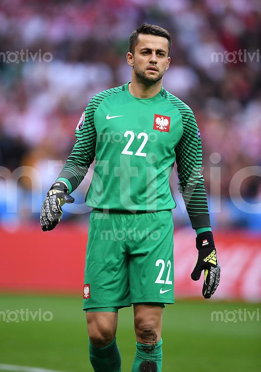 FUSSBALL EURO 2016 GRUPPE C IN PARIS Deutschland - Polen    16.06.2016 Torwart Lukasz Fabianski (Polen)